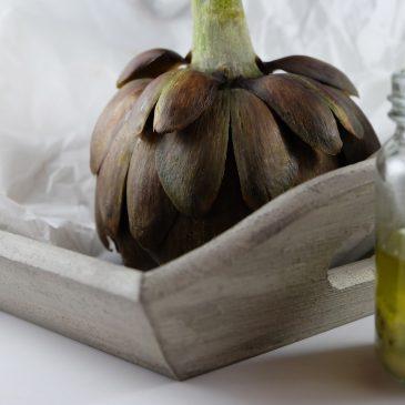 Artischocken mit Vinaigrette