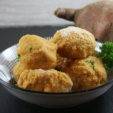 Süßkartoffel Falafel
