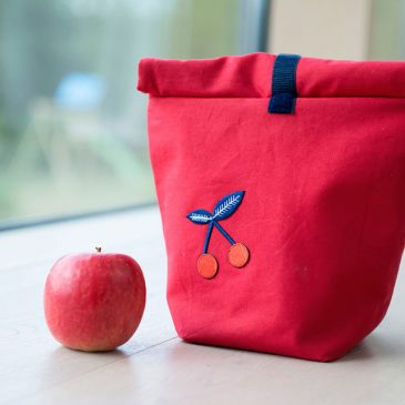 Selbstgenähter Lunchbag