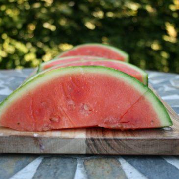 Wassermelone-Gurken-Limetten Cocktail