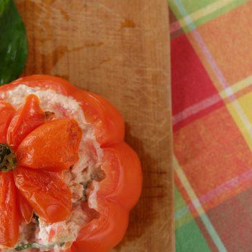 Perfekter Feierabendsnack: Gefüllte Tomaten