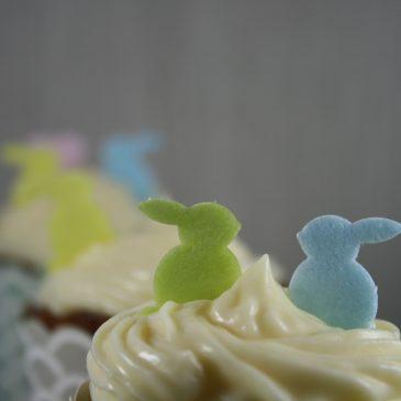 Möhren-Nuss-Cupcakes