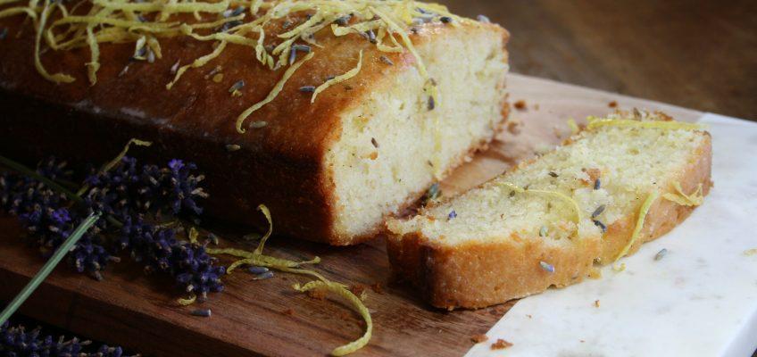 Lavendel-Zitronen-Kuchen