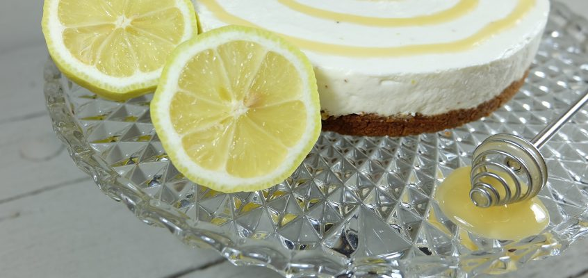 Honig-Zitronen-Frischkäse-Torte
