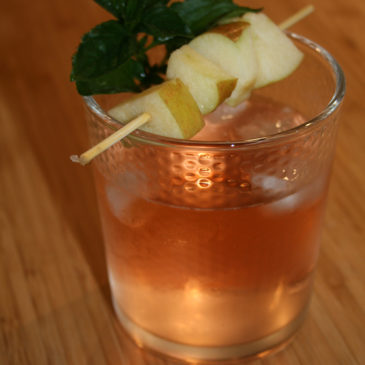 Bourbon-Cidre Cocktail