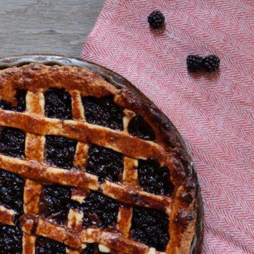 Blackberry-Hazelnut Tart